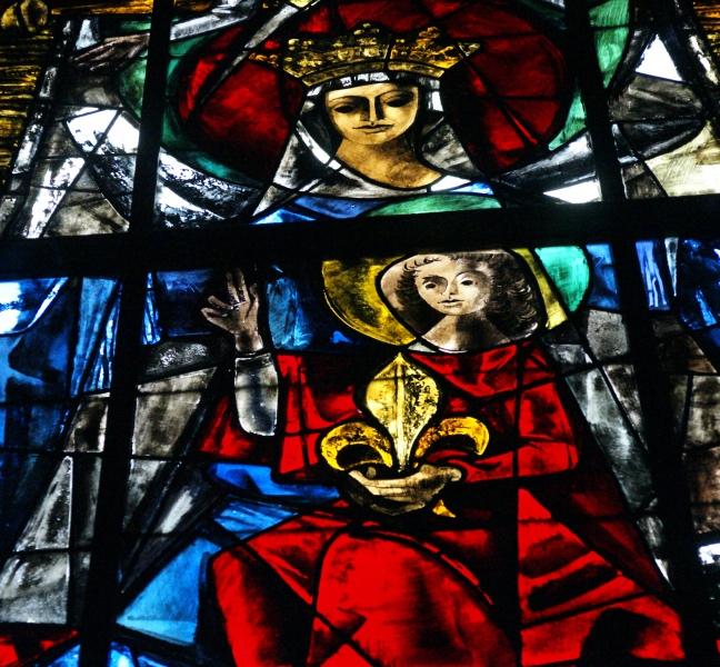 L histoire du vitrail de la fen tre axiale du ch ur for Histoire de la fenetre